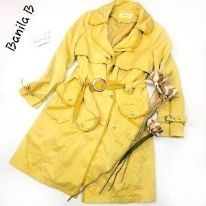 💝🌷 Banila B - Yellow fully lined Coat Gorgeous!